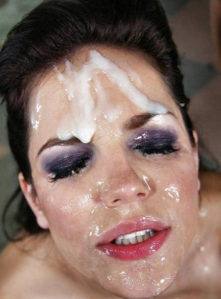 Девушки со спермой на лице секс фото и порно фото